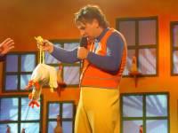Grzegorz Halama i kurczak