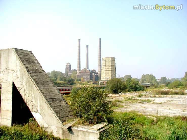 Elektrownia Szombierki - widok znad Bytomki.