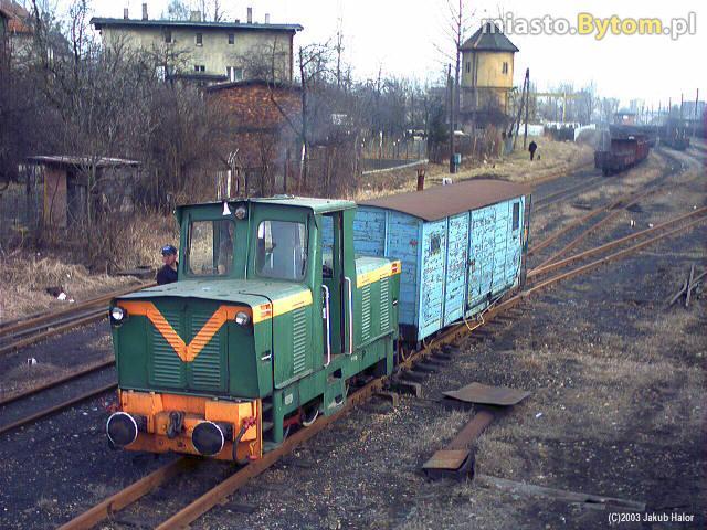 Na stacji Bytom Karb Wąsk. pierwsze porządki wiosenne.