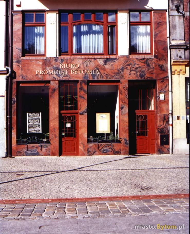 Biuro Promocji Bytomia - widok od frontu.